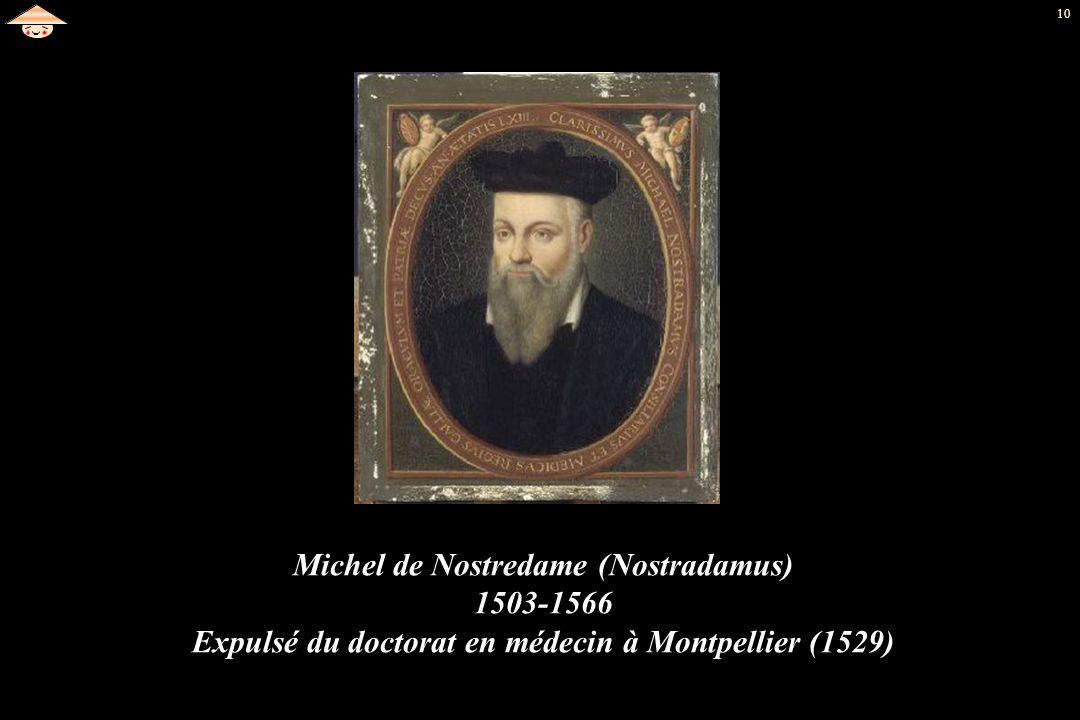 Michel de Nostredame (Nostradamus) 1503-1566