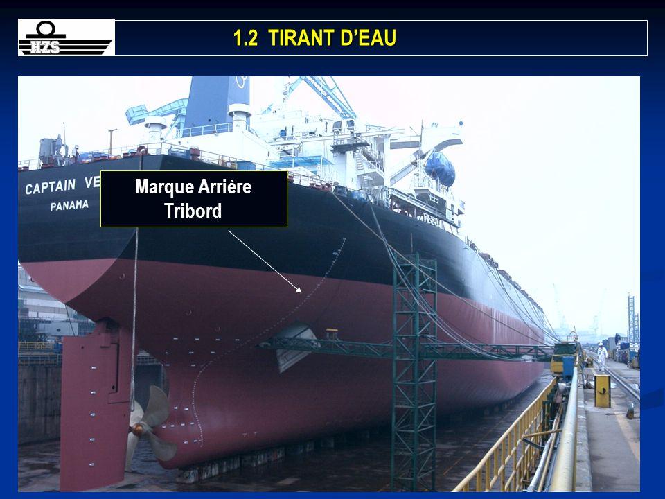 Marque Arrière Tribord
