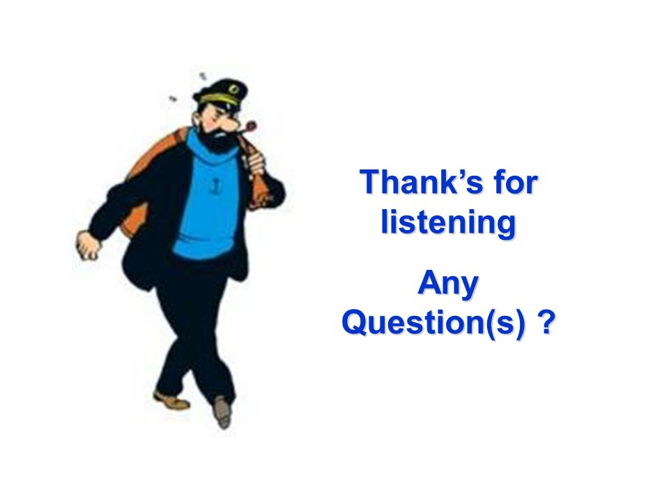 Thank's for listening Any Question(s)