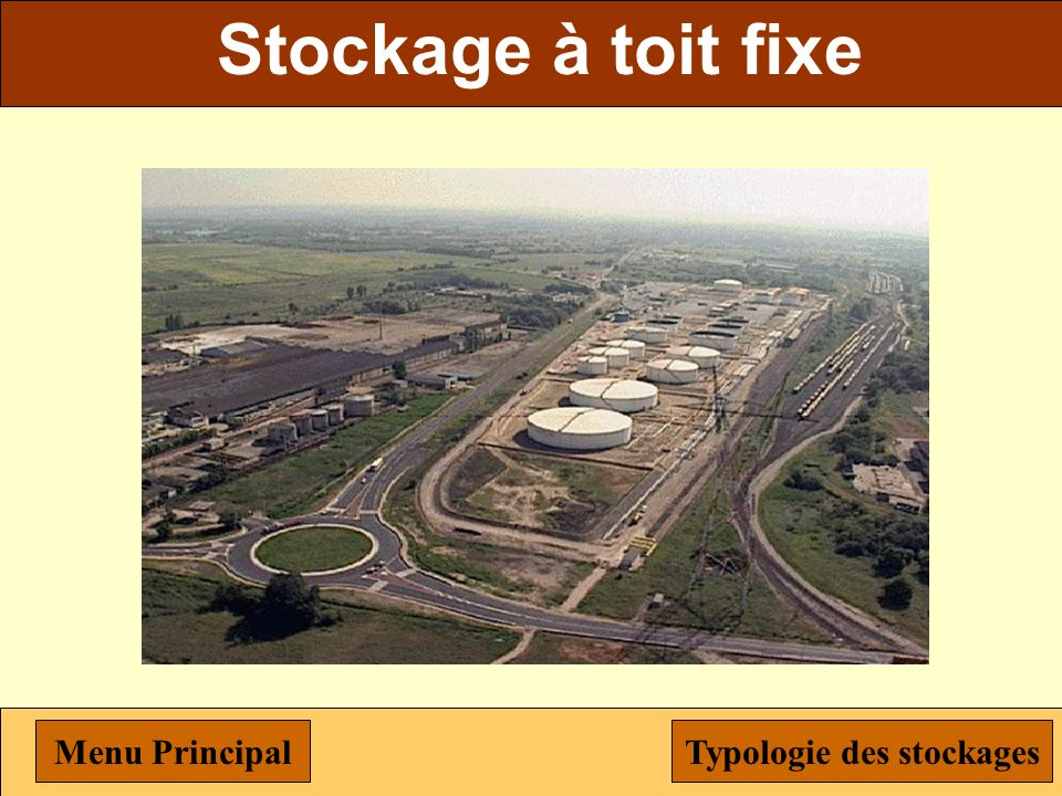 Typologie des stockages