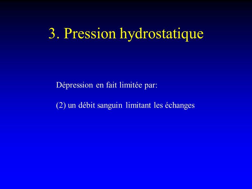3. Pression hydrostatique