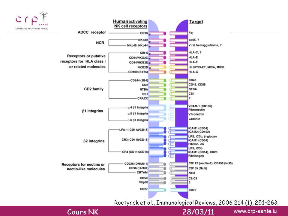 RECEPTEURS ACTIVATEURS DES CELLULES NK (1)