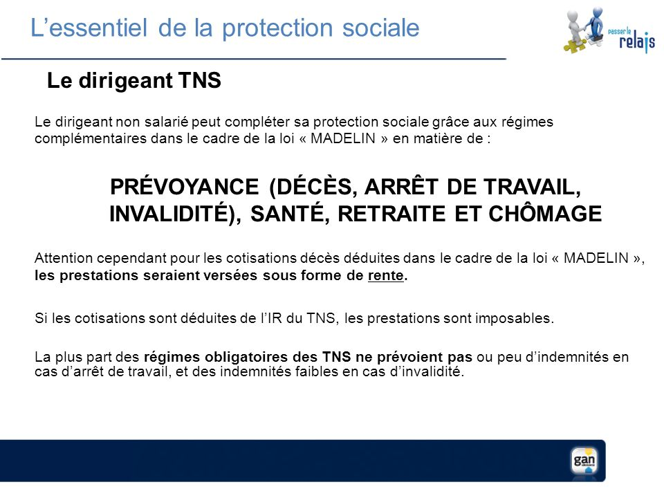 L'essentiel de la protection sociale