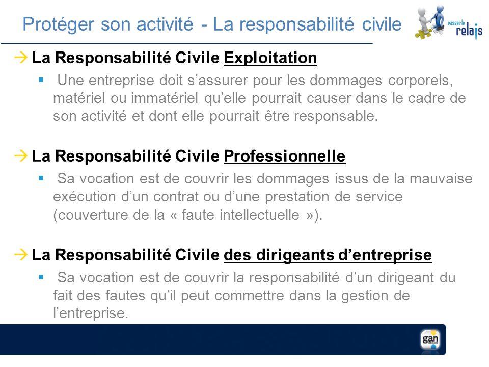 Protéger son activité - La responsabilité civile
