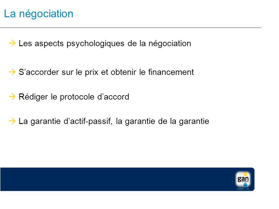 La négociation Les aspects psychologiques de la négociation