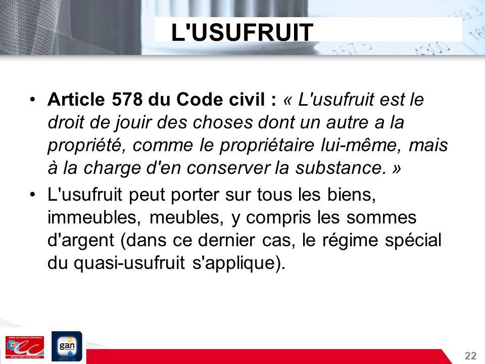 Immobilier d entreprise et d membrement de propri t ppt - Article 678 du code civil ...