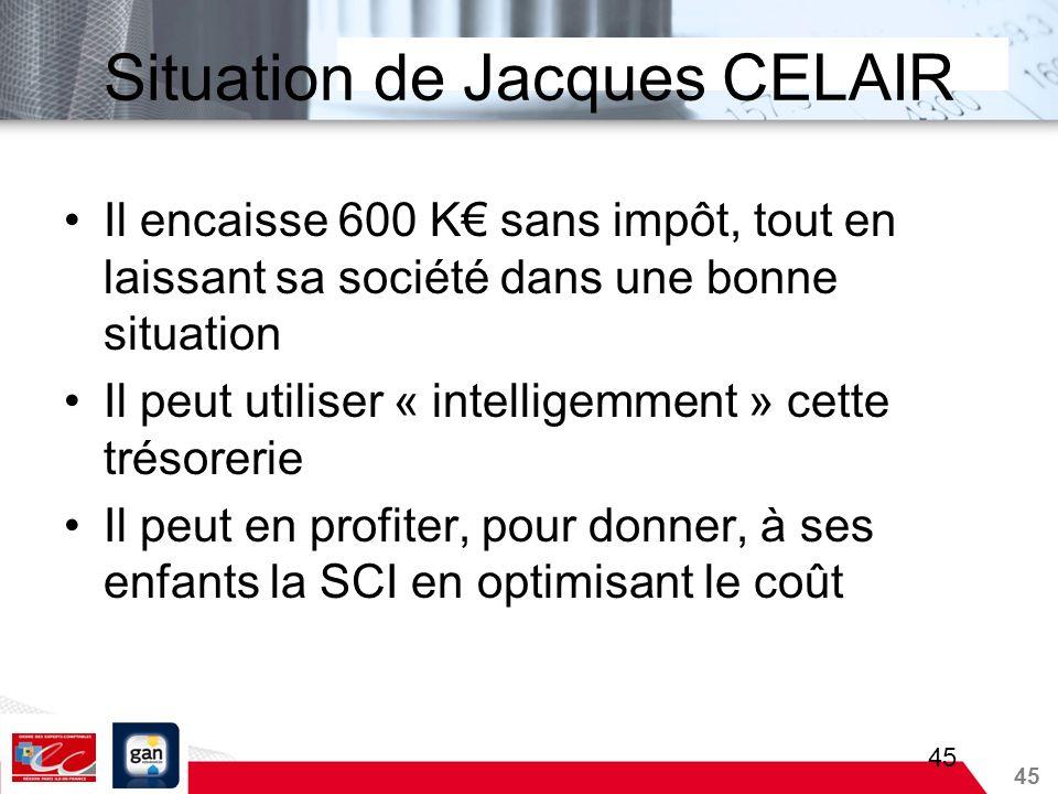 Situation de Jacques CELAIR