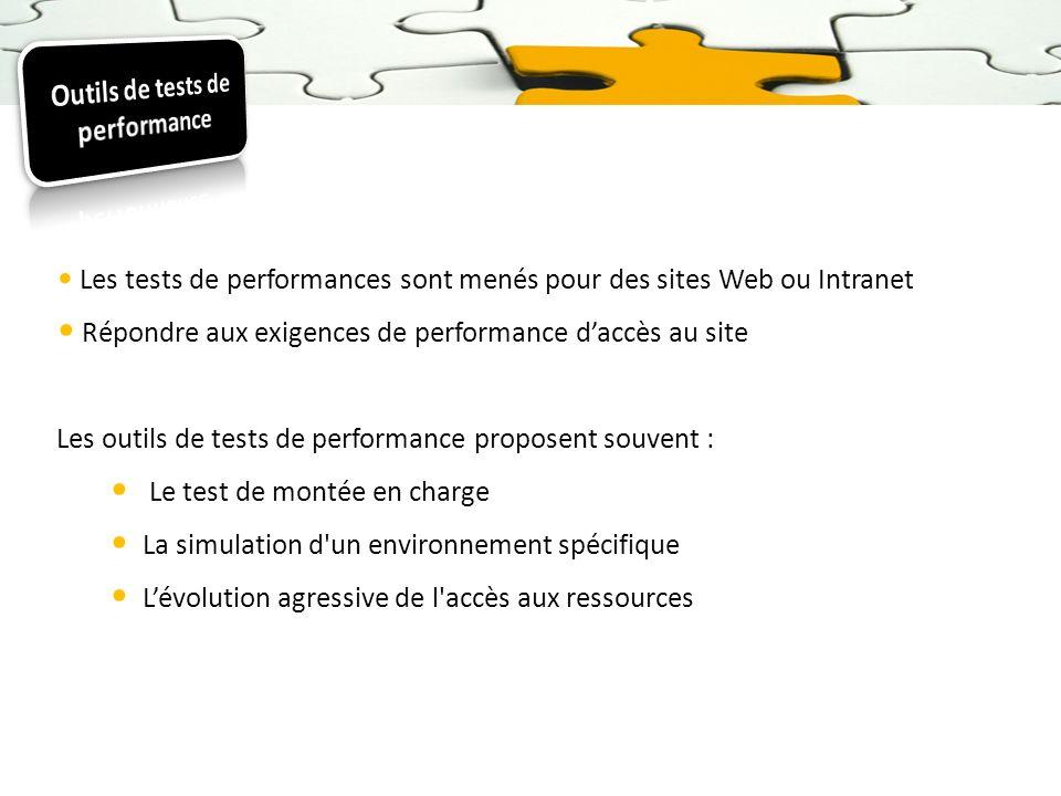 Outils de tests de performance