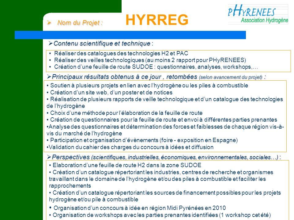 Organisation d'un concours à idée en région Midi Pyrénées en 2010