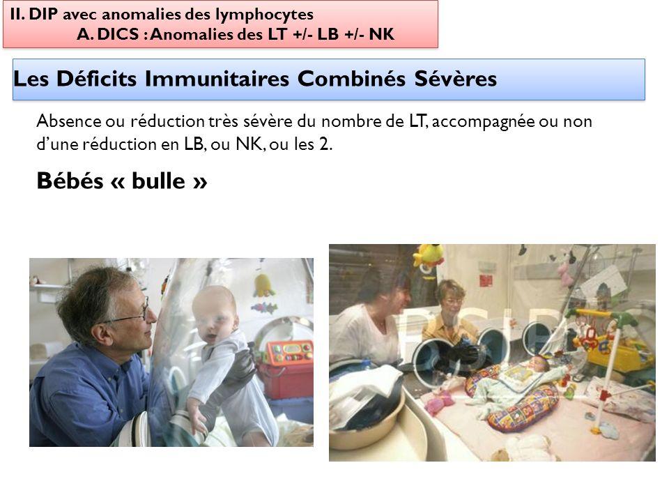 Bébés « bulle » Les Déficits Immunitaires Combinés Sévères