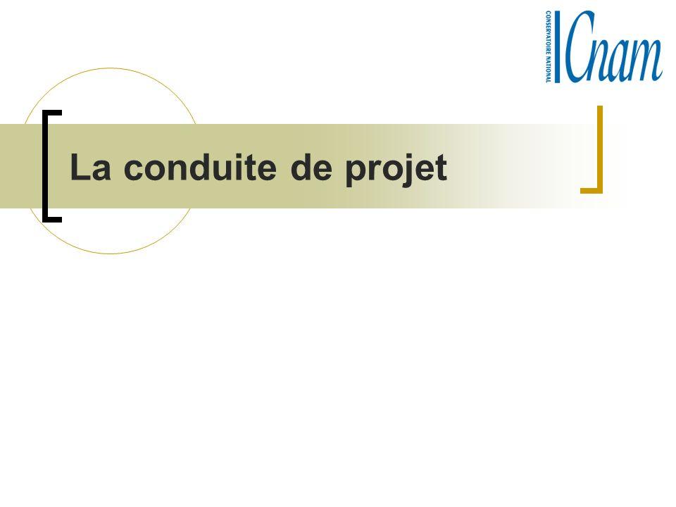 La conduite de projet