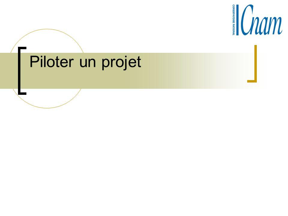 Piloter un projet