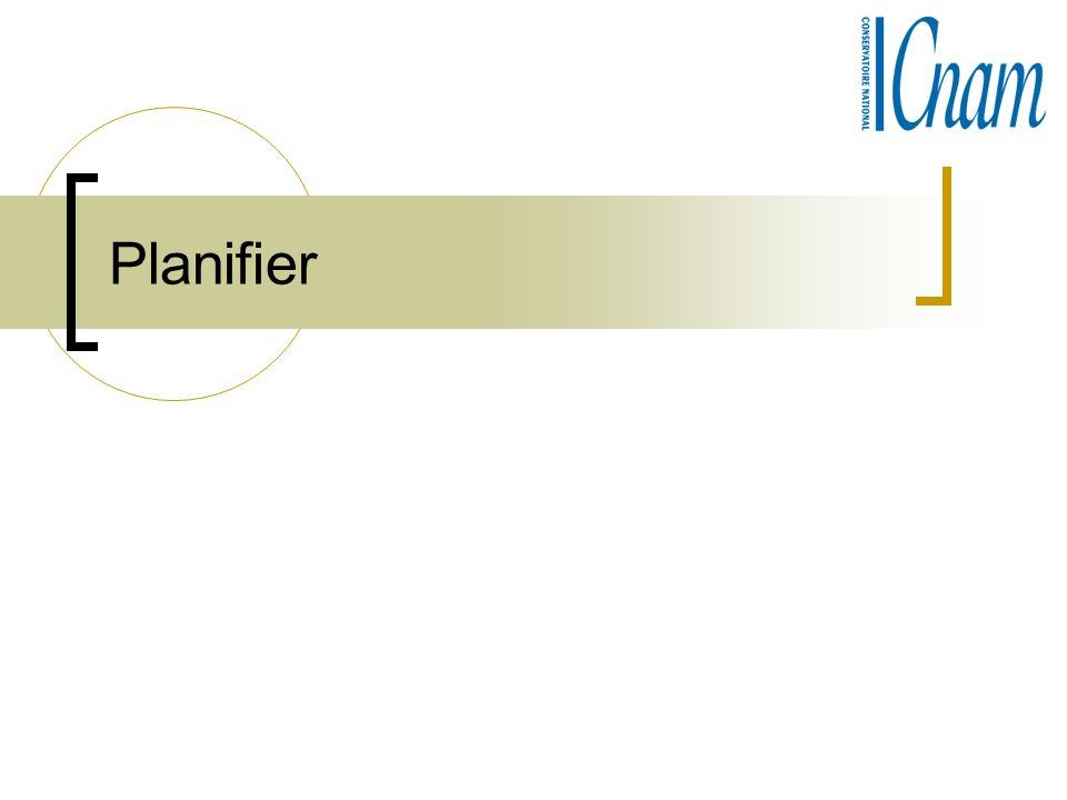 Planifier