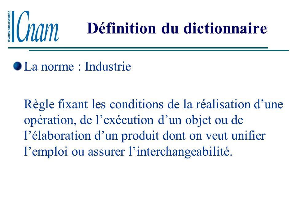 Définition du dictionnaire