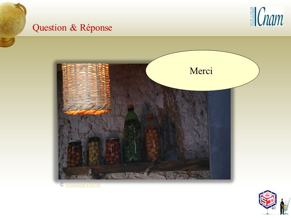 Question & Réponse Merci © Suzanne Porter