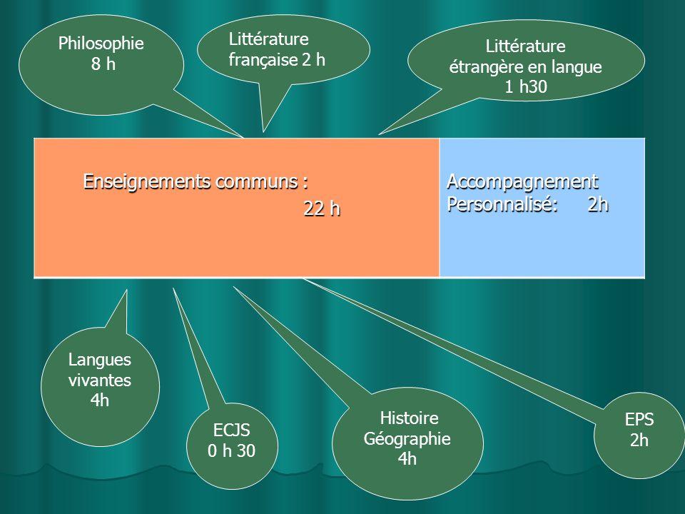 Littérature étrangère en langue 1 h30