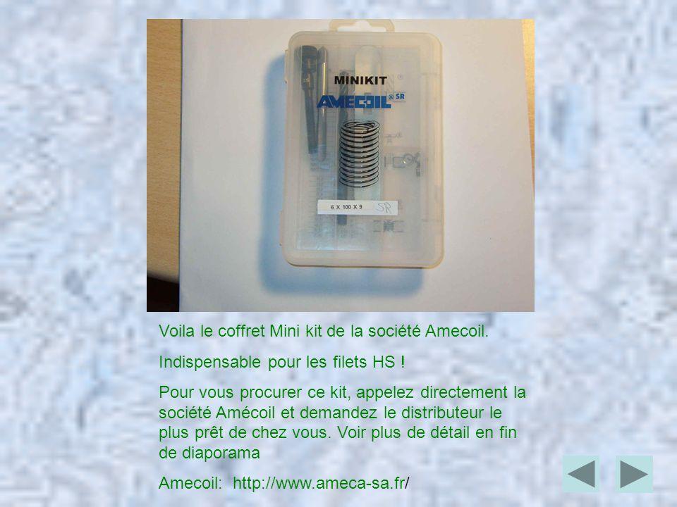 Voila le coffret Mini kit de la société Amecoil.