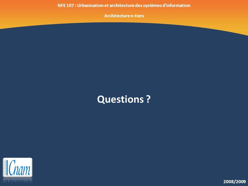 NFE 107 : Urbanisation et architecture des systèmes d information