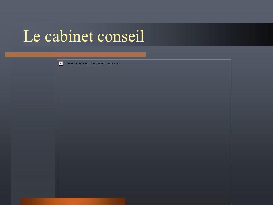 Le cabinet conseil