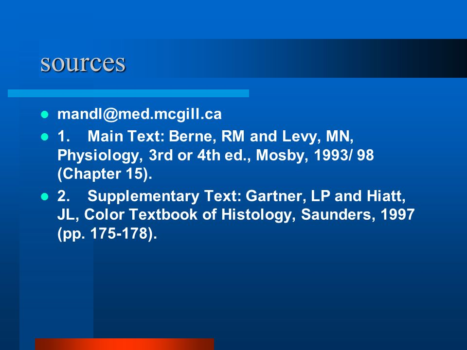 sources mandl@med.mcgill.ca