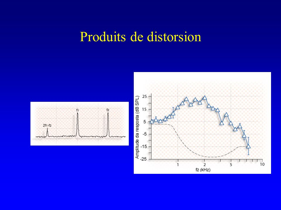 Produits de distorsion