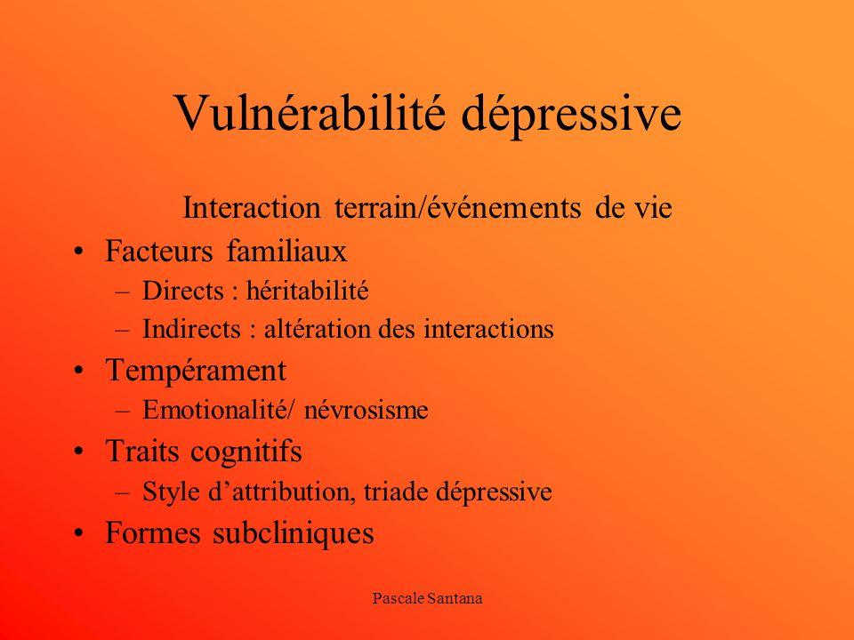 Vulnérabilité dépressive