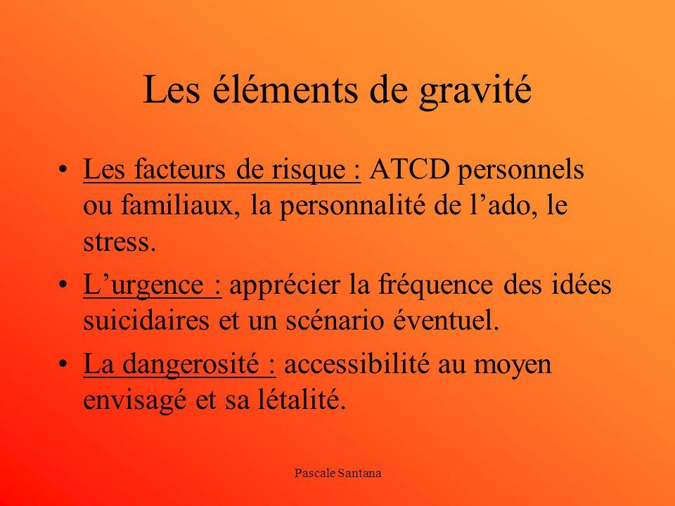 Les éléments de gravité