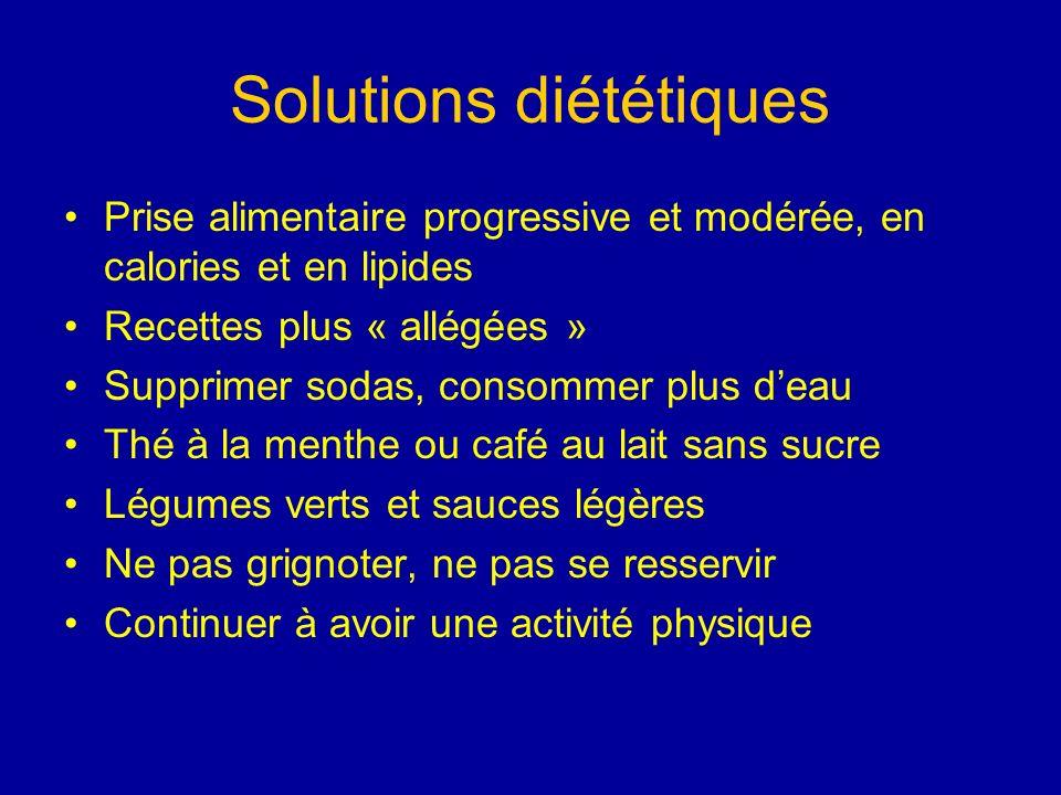 Solutions diététiques