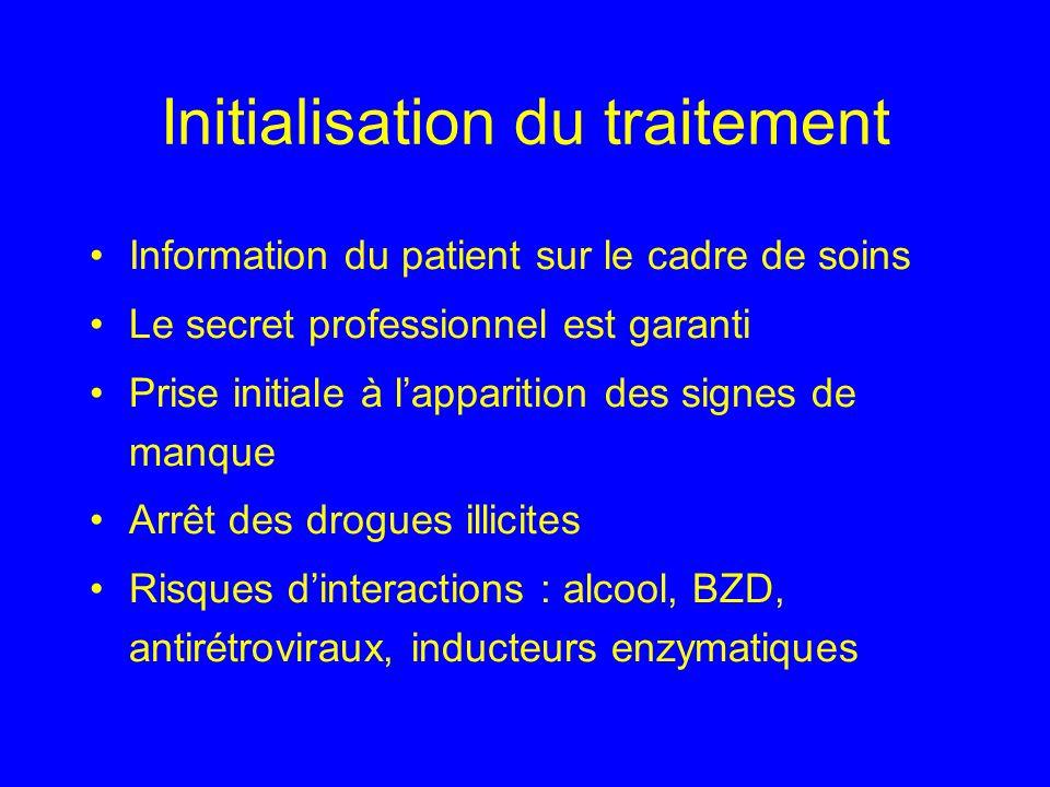 Initialisation du traitement