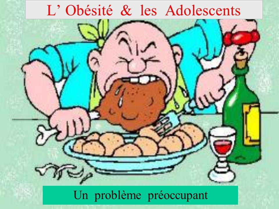 L' Obésité & les Adolescents