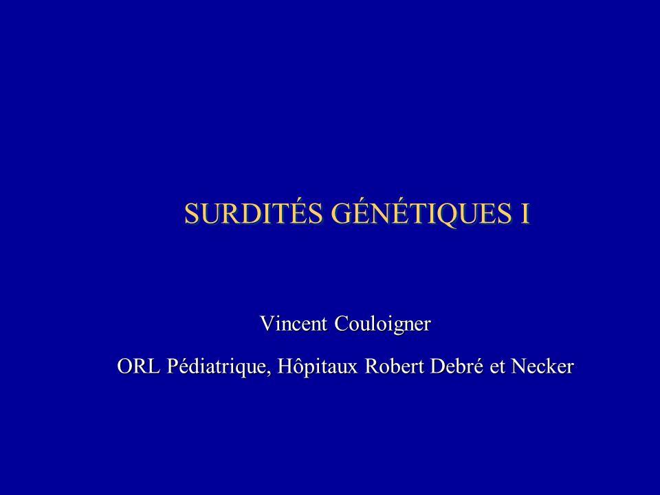 Vincent Couloigner ORL Pédiatrique, Hôpitaux Robert Debré et Necker
