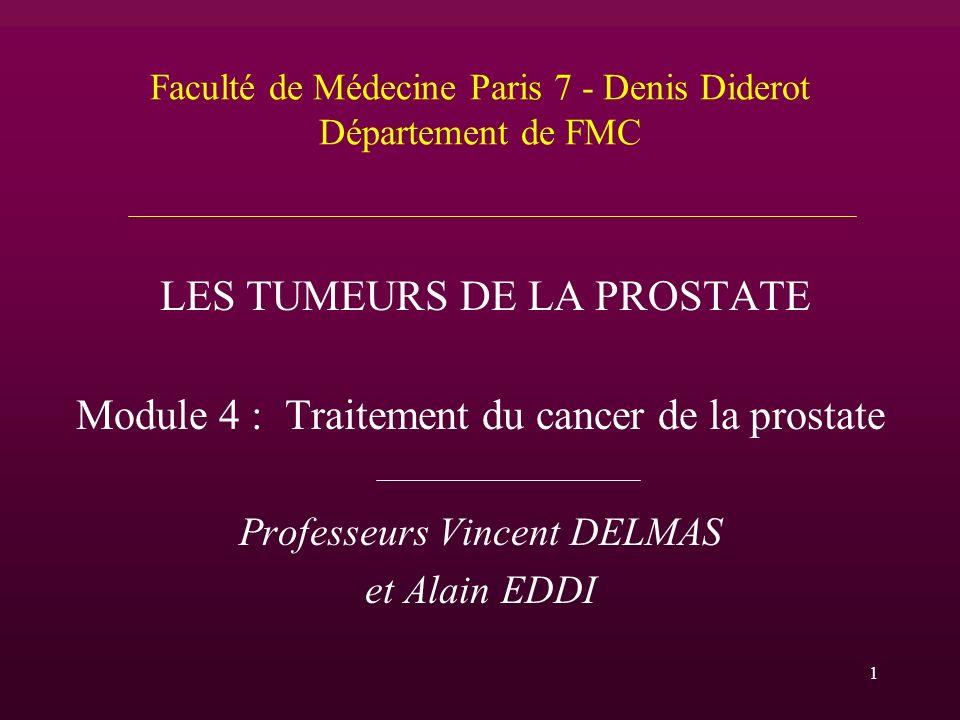 Faculté de Médecine Paris 7 - Denis Diderot Département de FMC
