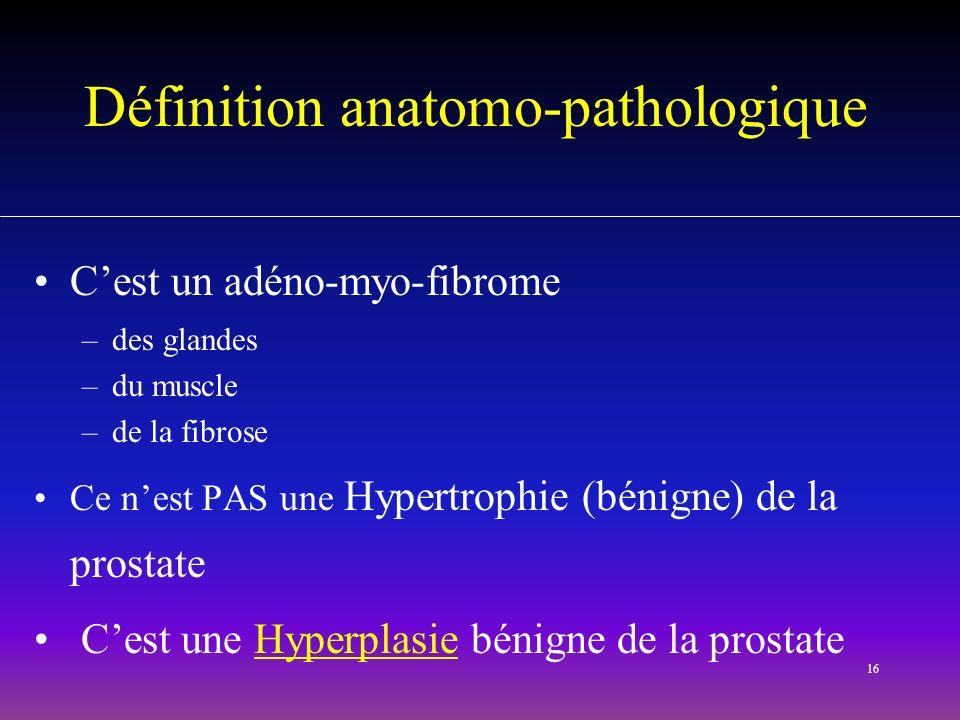 Définition anatomo-pathologique