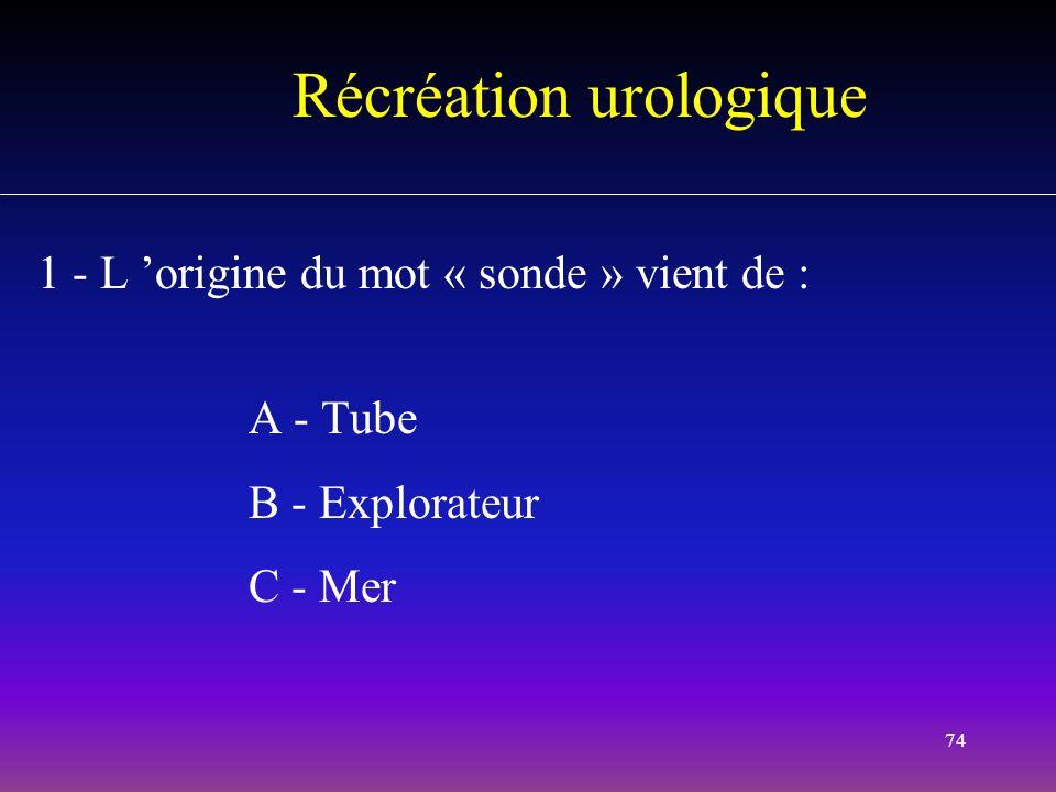 Récréation urologique