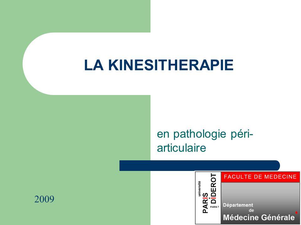 en pathologie péri-articulaire