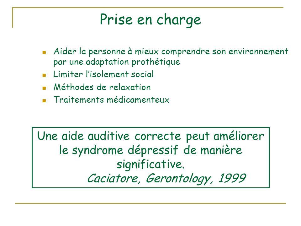 Caciatore, Gerontology, 1999