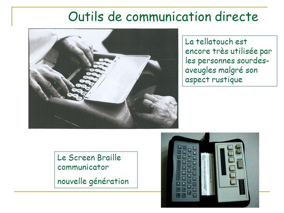 Outils de communication directe