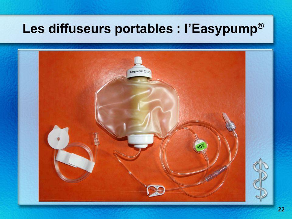 Les diffuseurs portables : l'Easypump®
