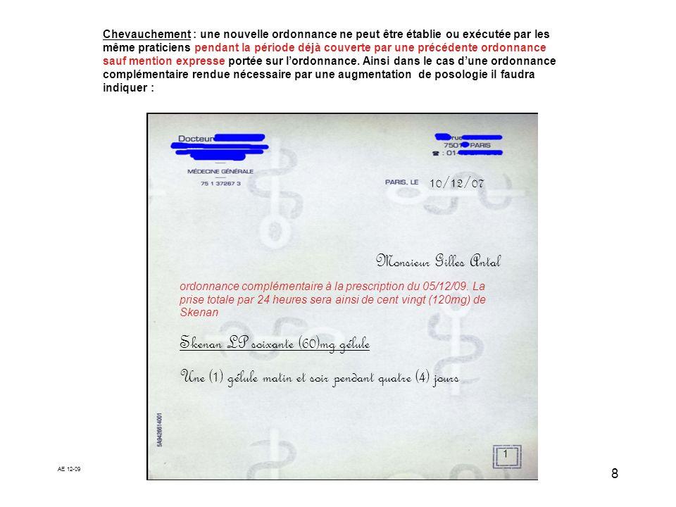 Skenan LP soixante (60)mg gélule