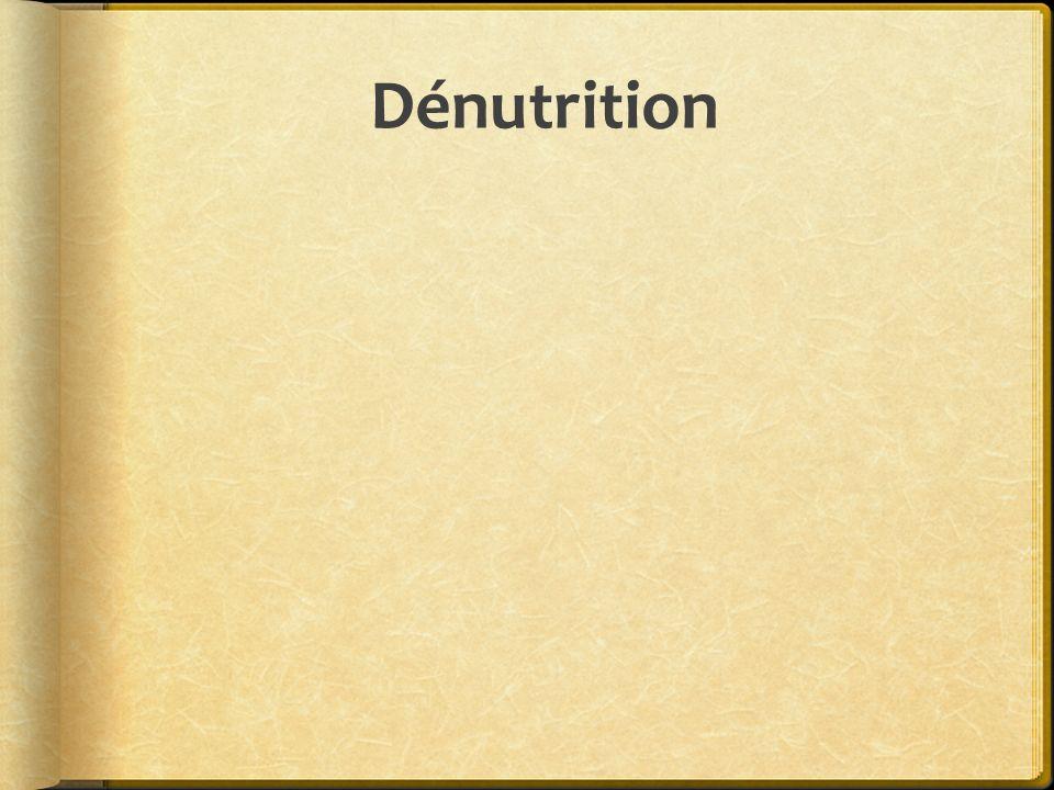 Dénutrition