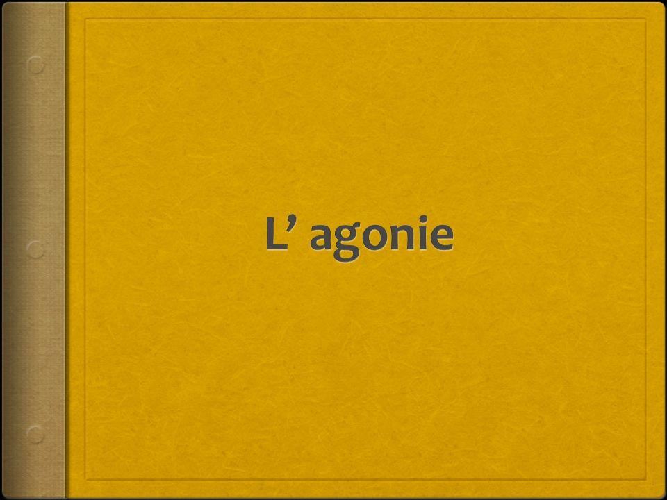 L' agonie