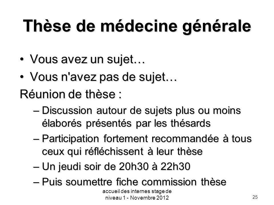 Thèse de médecine générale