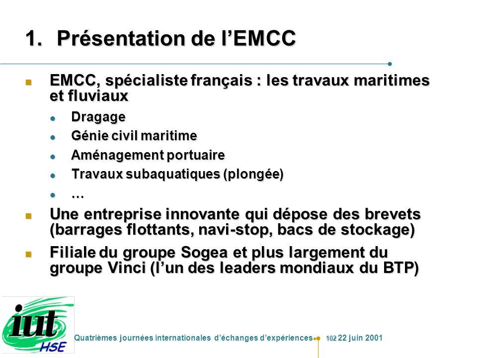 Présentation de l'EMCC