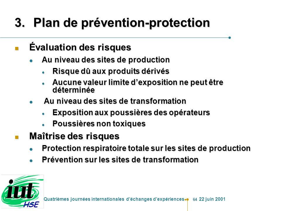 Plan de prévention-protection