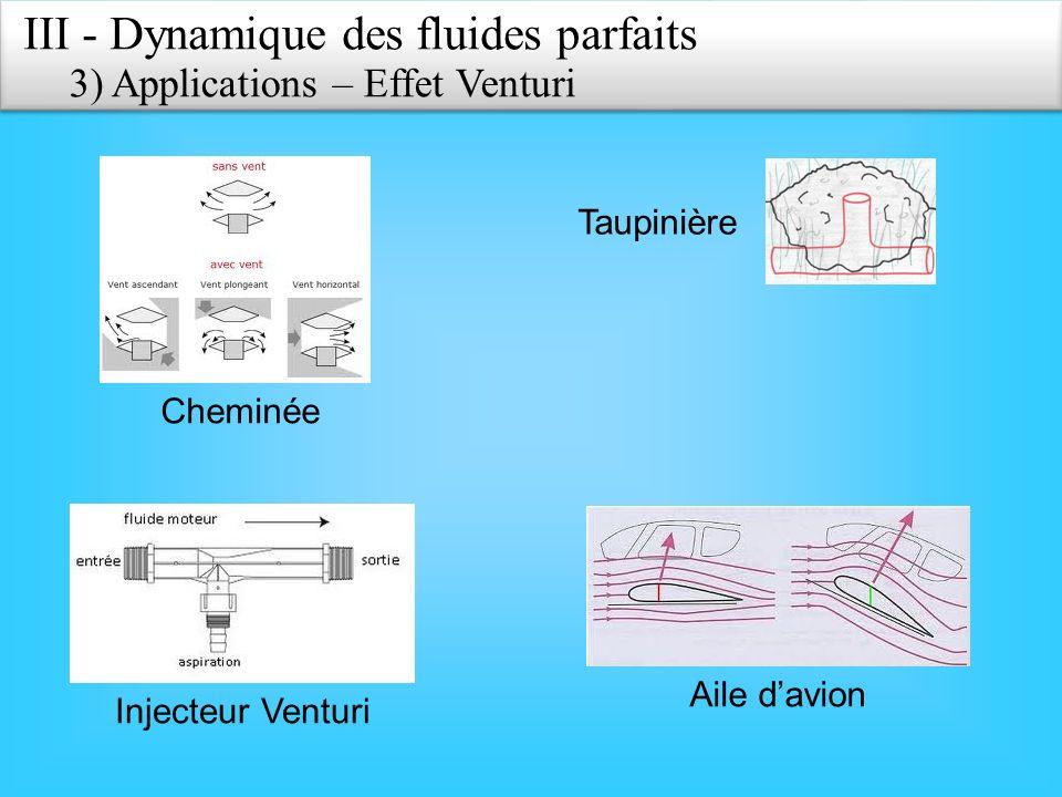 III - Dynamique des fluides parfaits