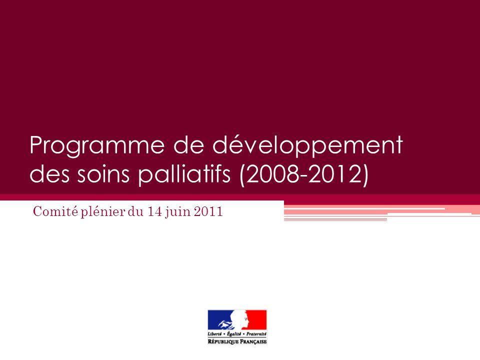 Programme de développement des soins palliatifs (2008-2012)