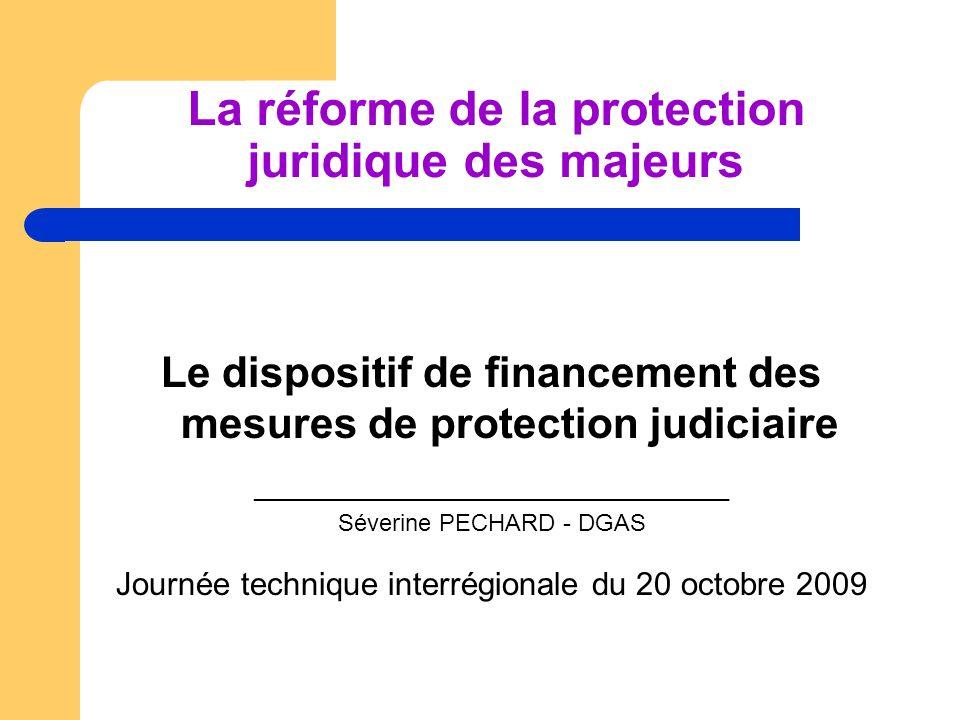 La réforme de la protection juridique des majeurs