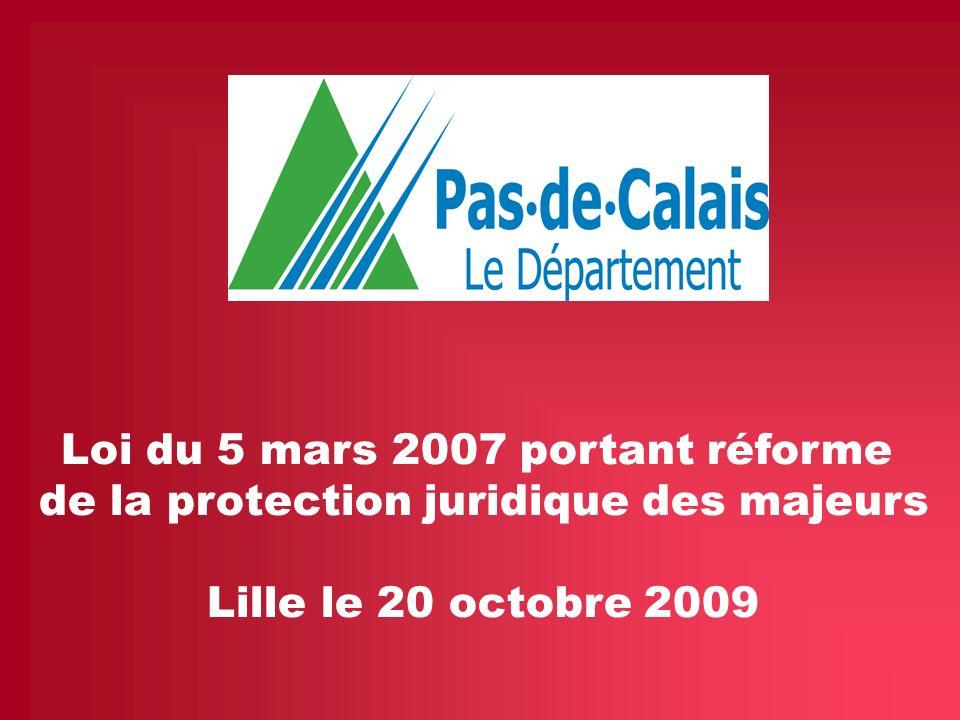 Loi du 5 mars 2007 portant réforme