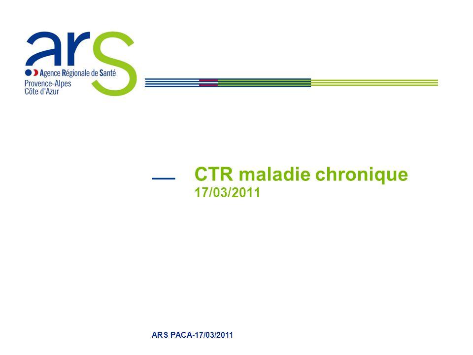 CTR maladie chronique 17/03/2011