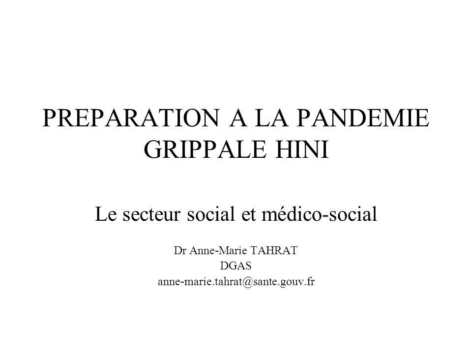 PREPARATION A LA PANDEMIE GRIPPALE HINI